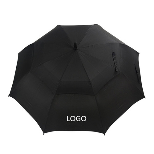 Double Layer Windproof Auto open Men Business golf umbrella