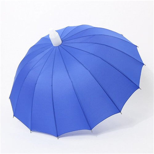 Long Handle Straight Umbrella With Waterproof Cover