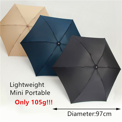 105g Lightweight Small mini travel compact fold umbrella
