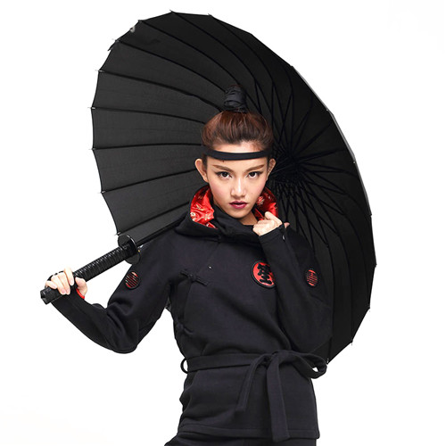 Creative Long Handle Samurai Sword Umbrella
